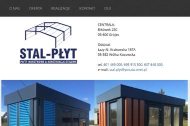 STAL-PŁYT - Firmy inżynieryjne Grójec