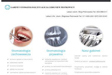 Gabinet Stomatologiczny - Zbigniew Piotrowski, Alicja Piotrowska - Gabinet Dentystyczny Olecko