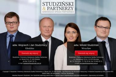 Studziński i Partnerzy Adwokacka Spółka Partnerska - Adwokat Kłodzko
