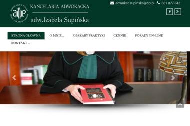 Kancelaria Adwokacka - Adwokat Izabela Supińska - Adwokat Giżycko