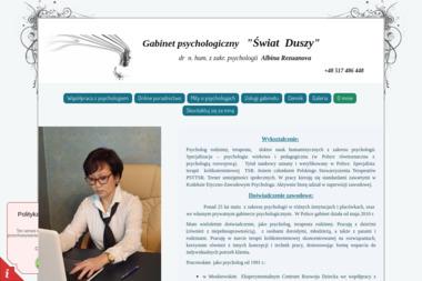 """Gabinet psychologiczny """"Świat Duszy"""" - Psycholog Ciechocinek"""
