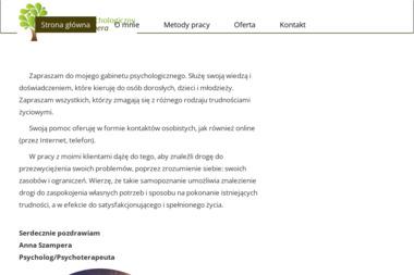 Psycholog Anna Szampera - Psycholog Opole