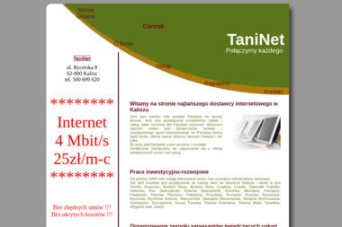 TaniNet - Internet Kalisz