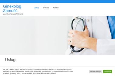 Ginekolog Tomasz Tarajko - Ginekolog Zamość