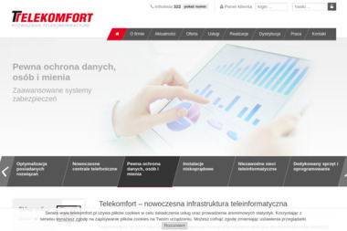 TELEKOMFORT DOMIN Spółka jawna - Centrale Pbx Paniówki