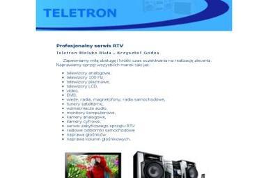 Teletron - Naprawa telewizorów Bielsko-Biała