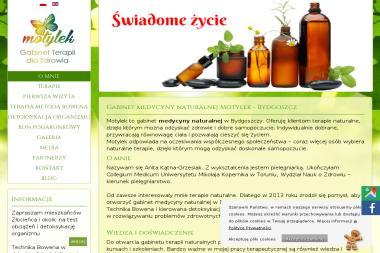 MOTYLEK - Gabinet Terapii dla Zdrowia - Medycyna niekonwencjonalna Bydgoszcz