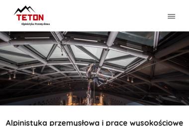 TETON Alpinistyka Przemysłowa - Prace wysokościowe Elbląg