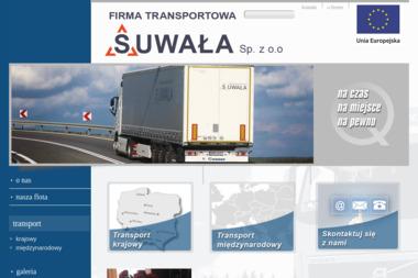 FIRMA TRANSPORTOWA SUWAŁA Sp. z o. o - Transport Międzynarodowy Humniska