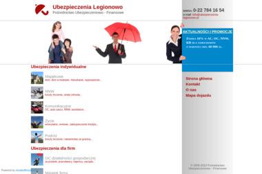Pośrednictwo Ubezpieczeniowo - Finansowe - Ubezpieczenie firmy Legionowo