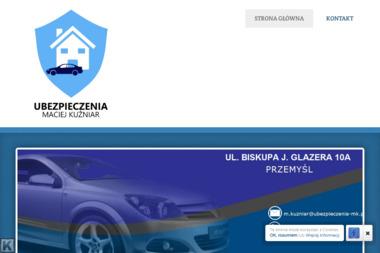 UBEZPIECZENIA - MACIEJ KUŹNIAR - Ubezpieczenie samochodu Przemyśl
