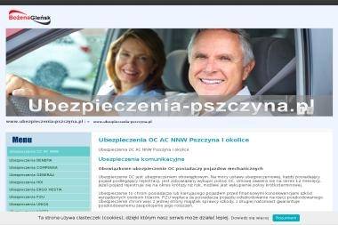 Firma Ubezpieczeniowa Bożena Gleńsk - Ubezpieczenia Samochodowe Pszczyna