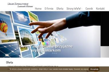 Usługi Informatyczne Mateusz Lachowski - Tworzenie Stron Internetowych Opoczno