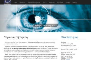 Unitron - Alarmy Kędzierzyn-Koźle