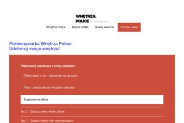 Studio wnętrz – Piotr Dawidowski - Okna PCV Police
