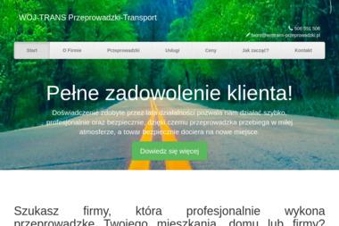 """""""WOJ-TRANS"""" Przeprowadzki-Transport - Przeprowadzki Zagraniczne Białystok"""