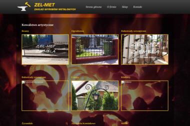 Zakład Wyrobów Metalowych ZEL-MET - Ogrodzenia kute Sułkowice