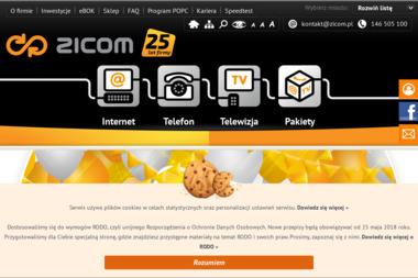 Zicom Next - Dostawcy internetu, usługi telekomunikacyjne Jelenia Góra
