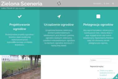 F.U. Pracowania Architektury Krajobrazu Zielona Sceneria - Projektowanie ogrodów Szydłowo