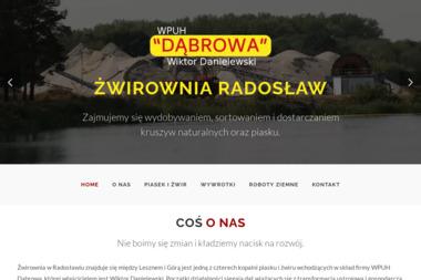 Żwirownia Radosław - Sprzedaż Żwiru Radosław