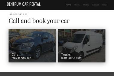 Wypożyczalnia samochodów CENTRUM - Wypożyczalnia samochodów Elbląg