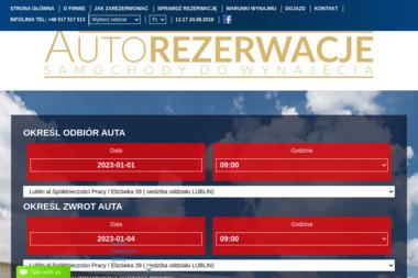 Autorezerwacje Sp. z o.o. - Wypożyczalnia samochodów Ciecierzyn