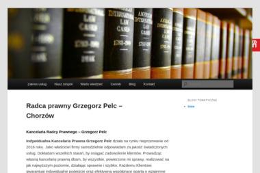 GRZEGORZ PELC KANCELARIA RADCY PRAWNEGO - Pomoc Prawna Chorzów