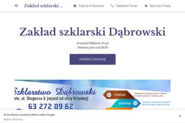 Zakład szklarski Dąbrowski - Szklarz Koło