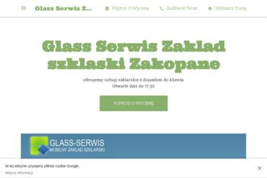 Glass Serwis Zakład Szklaski - Szklarz Zakopane