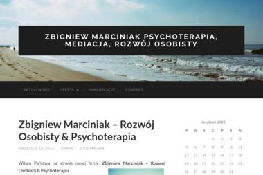 Zbigniew Marciniak - Psychoterapia, Mediacja, Rozwój Osobisty - Psycholog Sieradz