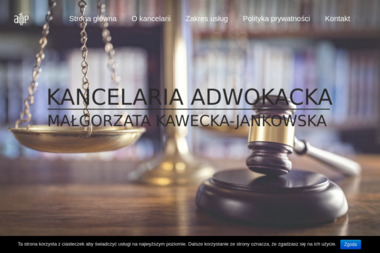 Kancelaria Adwokacka Małgorzata Kawecka-Jankowska - Adwokat Włocławek