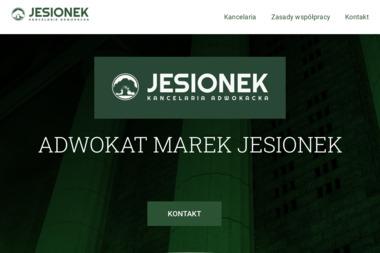 KANCELARIA ADWOKACKA - ADWOKAT MAREK JESIONEK - Adwokat Starachowice