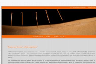 Studio Akupuntury i Medycyny Naturalnej - Akupunktura Inowrocław