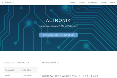 Altronik - Serwis komputerów, telefonów, internetu Puławy