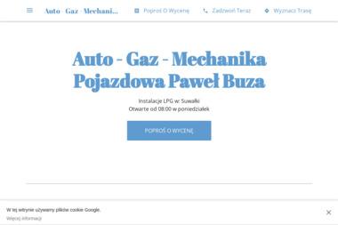 Auto-Gaz - Mechanika Pojazdowa Paweł Buza - Warsztat LPG Suwałki