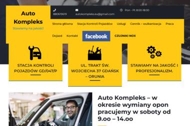 AutoKompleks - Konserwacja pojazdów, antykorozyjne Gdańsk