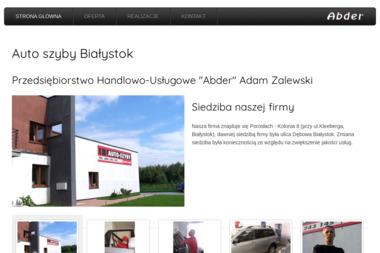 """Przedsiębiorstwo Handlowo-Usługowe """"Abder"""" - Przyciemnianie Szyb Choroszcz"""