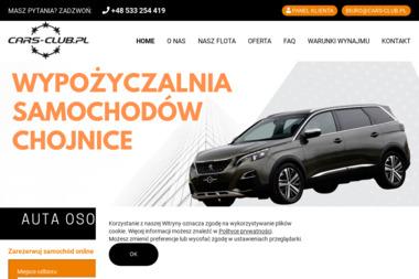 CARS-CLUB - Wypożyczalnia samochodów Chojnice