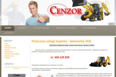 Cenzor - Piasek Chełm