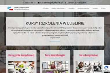 Centrum Kształcenia Proeuropejskiego w Lublinie - Usługi Szkoleniowe Lublin
