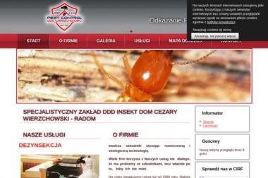Specjalistyczny Zakład DDD Insekt Dom - Dezynsekcja i deratyzacja Radom