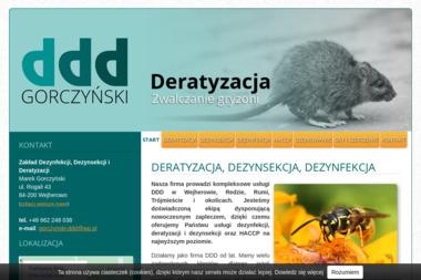Zakład Dezynfekcji, Dezynsekcji i Deratyzacji Marek Gorczyński - Dezynsekcja i deratyzacja Wejherowo