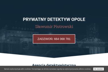 Prywatny detektyw Sławomir Piotrowski - Prywatny Detektyw Opole