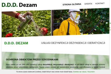 D.D.D. DEZAM - Dezynsekcja i deratyzacja Radom