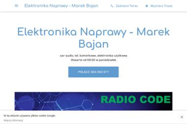 Elektronika Naprawy - Marek Bajan - Serwis komputerów, telefonów, internetu Zamość