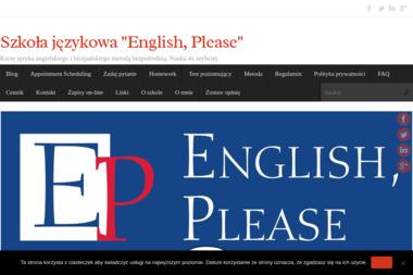 English Please Radosław Obuchowski - Nauczyciele angielskiego Elbląg