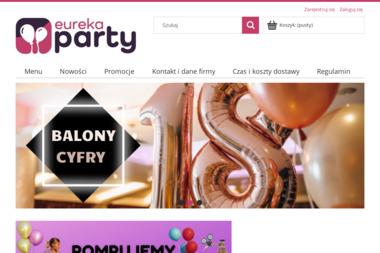 Centrum Balonowe & Party Shop EUREKA PARTY - Balony z helem Skoczów