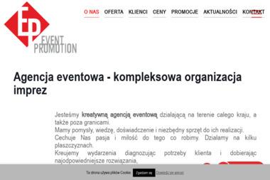 Event Promotion Agencja Promocyjno-Reklamowa - Agencje Eventowe Nowy Sącz
