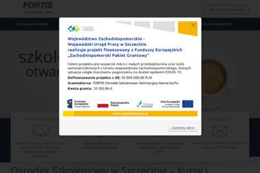 FORTIS Ośrodek Szkoleniowo-Seminaryjny - Coaching Biznesowy Szczecin