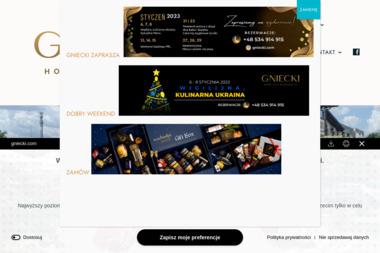 GNIECKI - Hotel & Restauracja - Gastronomia Hrubieszów